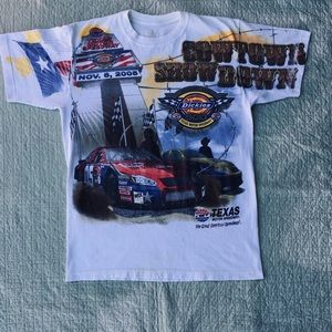 Dickies 500 from 2005 All Over Print NASCAR Shirt